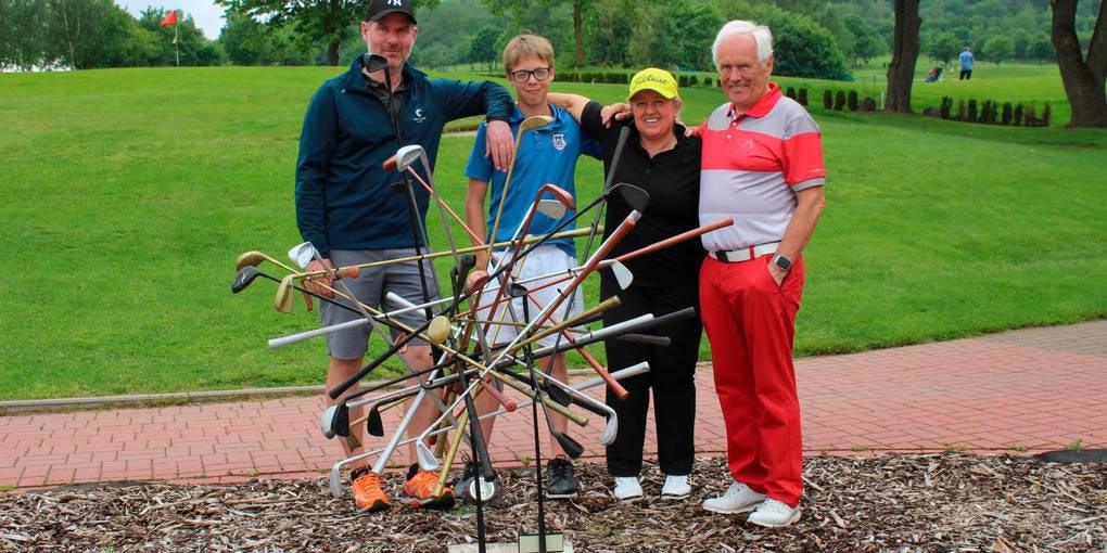 Golfer lochen für den guten Zweck ein